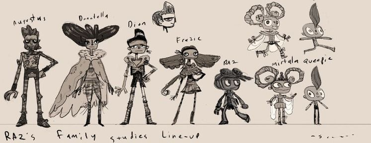 Psychonauts 2 Delayed To 2019, Reveals New Characters in Raz's Family