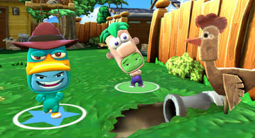 Phineas and Ferb cavort as Disney Universe DLC today