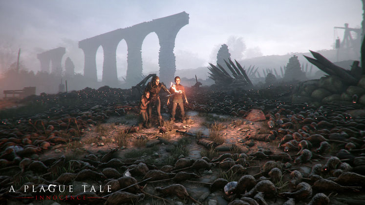 Stealth Adventure Game A Plague Tale: Innocence Has A Lot Of Rats, Launching in 2019