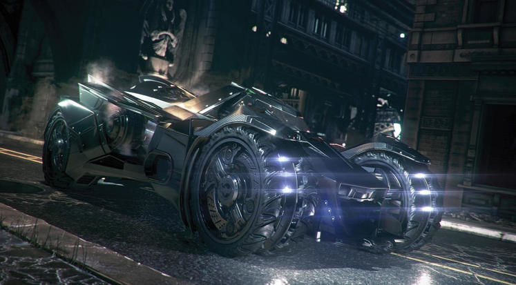 Blow up stuff (safely) with the Batmobile in Arkham Knight