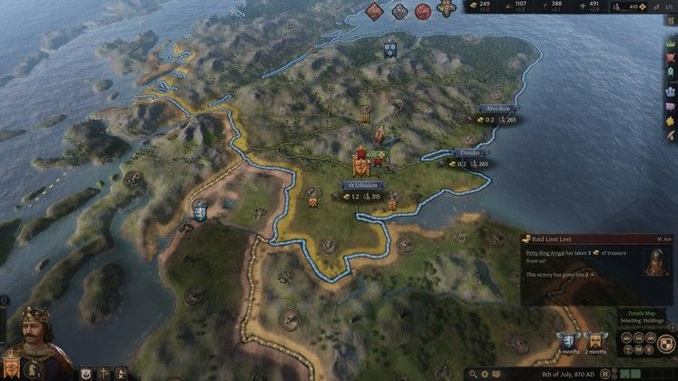 Crusader Kings 3 Tribal to Feudal Raiding Guide