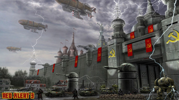 Rumour-mill: Red Alert 3 details inside