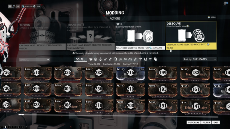 Warframe: What is Endo?