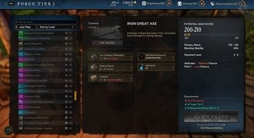 New World Crafting Recipes - How to Unlock