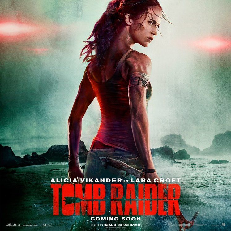 New Tomb Raider movie gets poster and teaser for trailer <UPDATE: Trailer is here!>