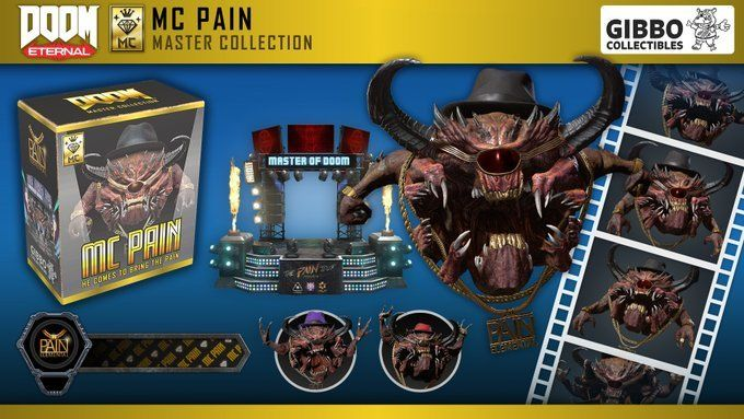 Play as a Demon Rapper With Doom Eternal's MC Pain Elemental Master Collection