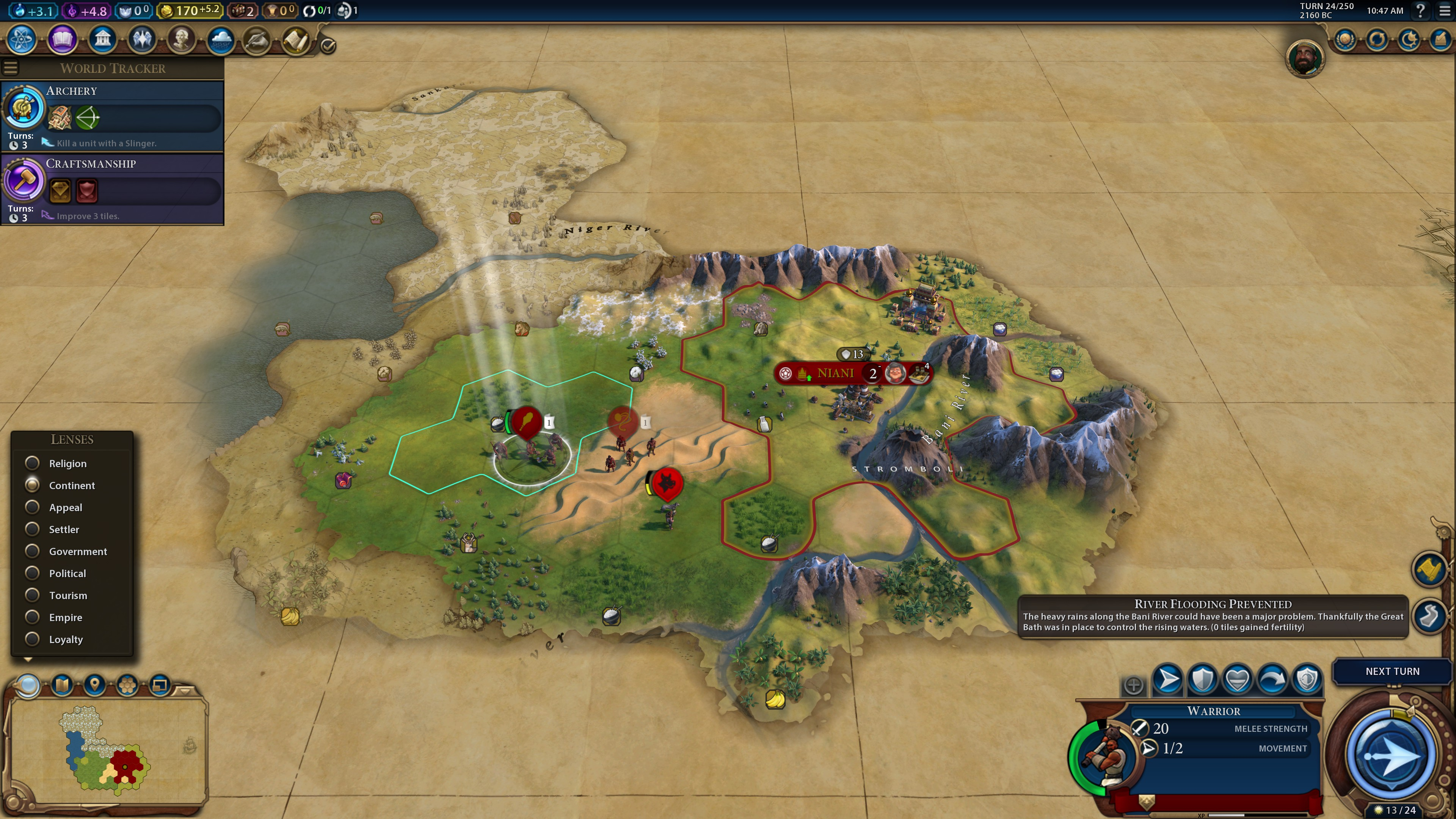 Civilization VI: Gathering Storm PC Review | GameWatcher