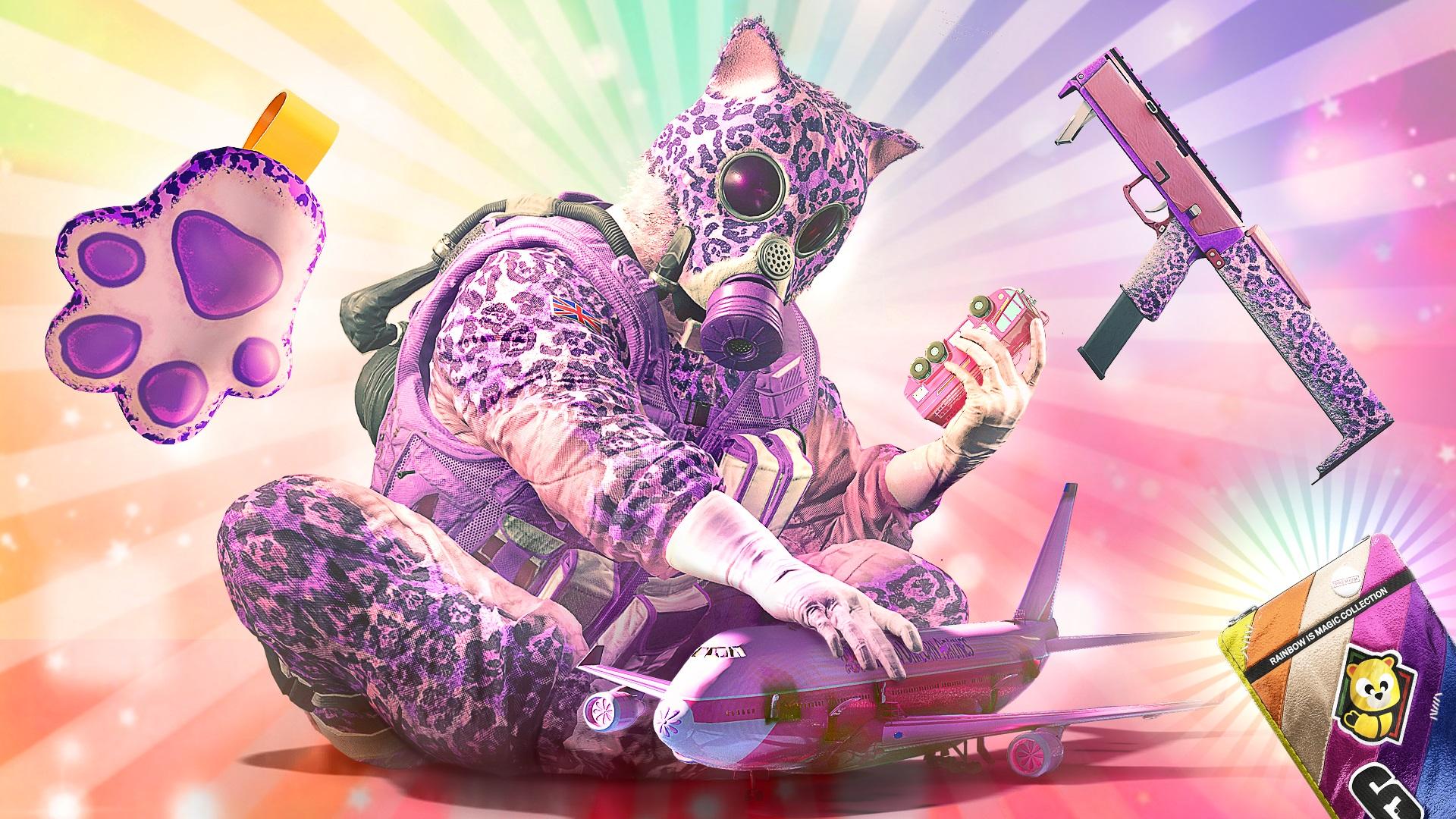 Rainbow Six Siege April Fools Day Event Adds Unicorns Gamewatcher