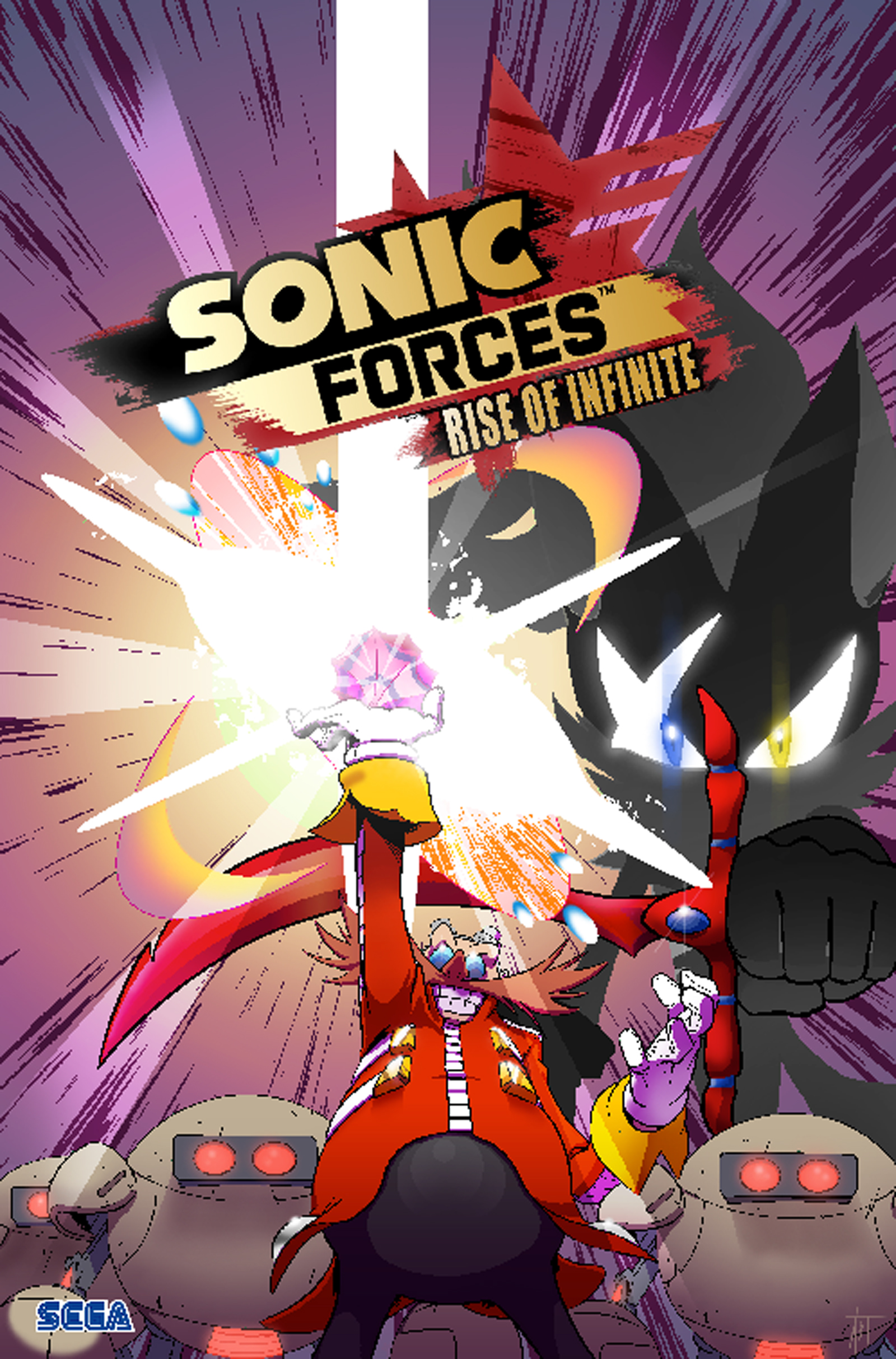 Read Download The Final Sonic Forces Comic Issue 4 Gamewatcher