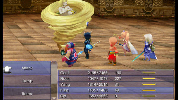 Final Fantasy IV stealthily hits Steam