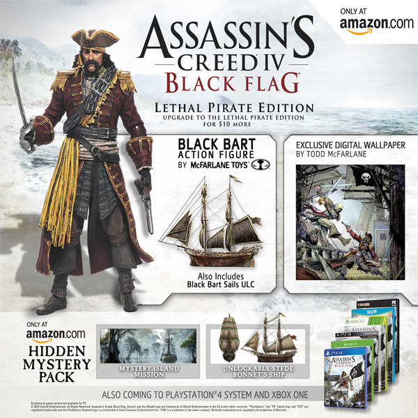 Assassin S Creed 4 Lethal Pirate Edition Exclusive To Gamewatcher