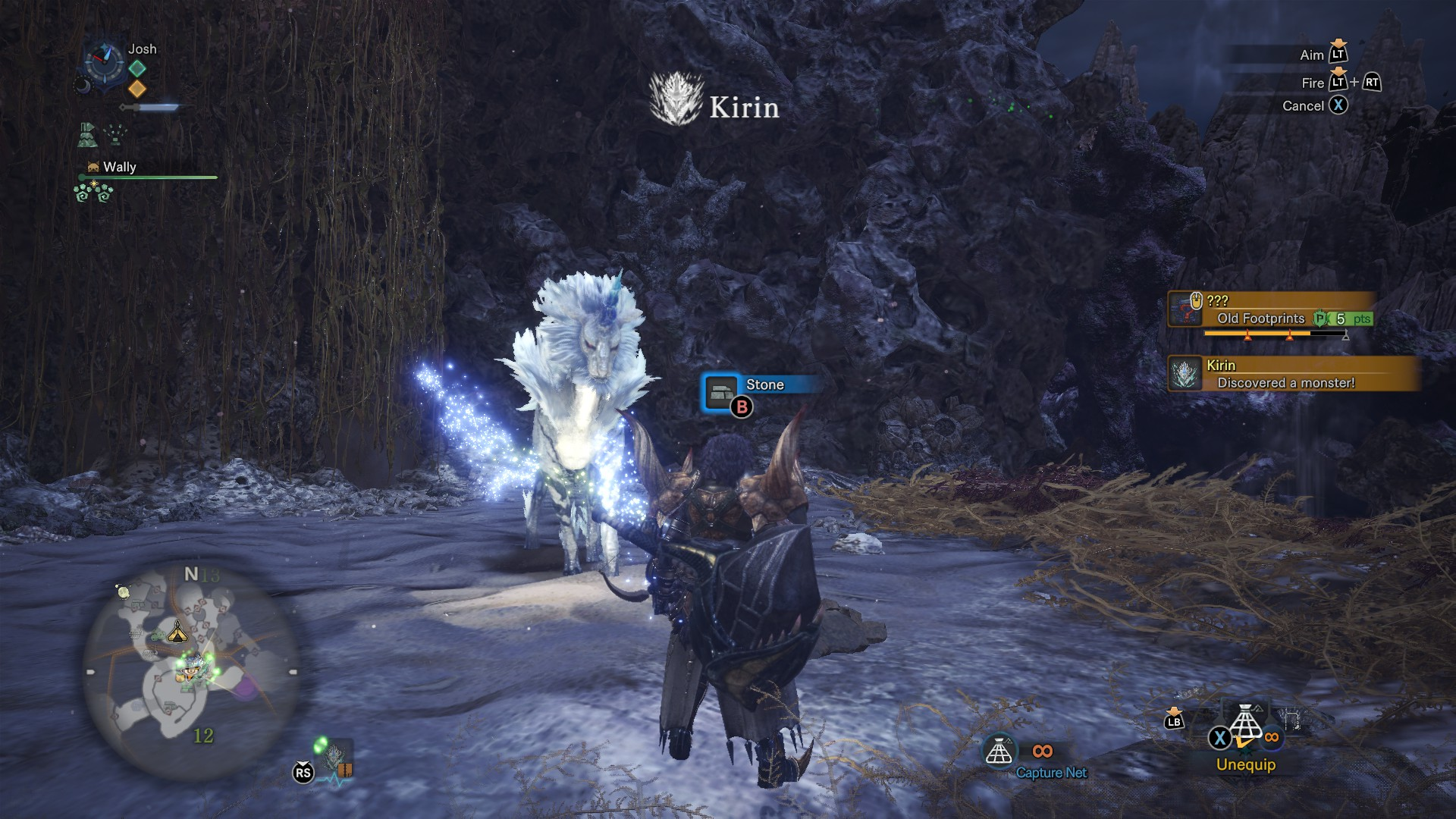 mhw how to find a kirin