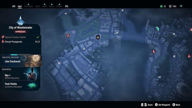 Watch Dogs: Legion Spy Location Guide