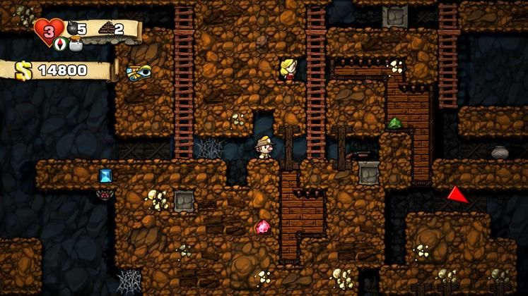 Steam version of Spelunky getting daily challenge