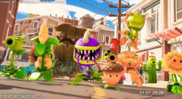 Watch the leaked Plants vs Zombies: Battle for Neighborville Trailer