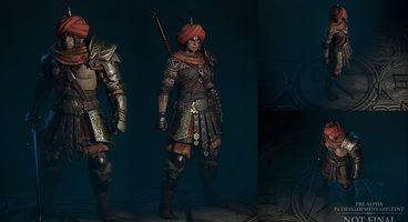 Diablo 4 Features More Character Customization Than Previous Games, Expanded Dye System