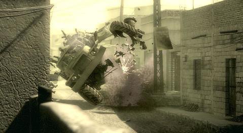 Konami reveals additional details on Metal Gear Solid 4