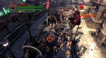 Capcom's Devil May Cry 4 on PC