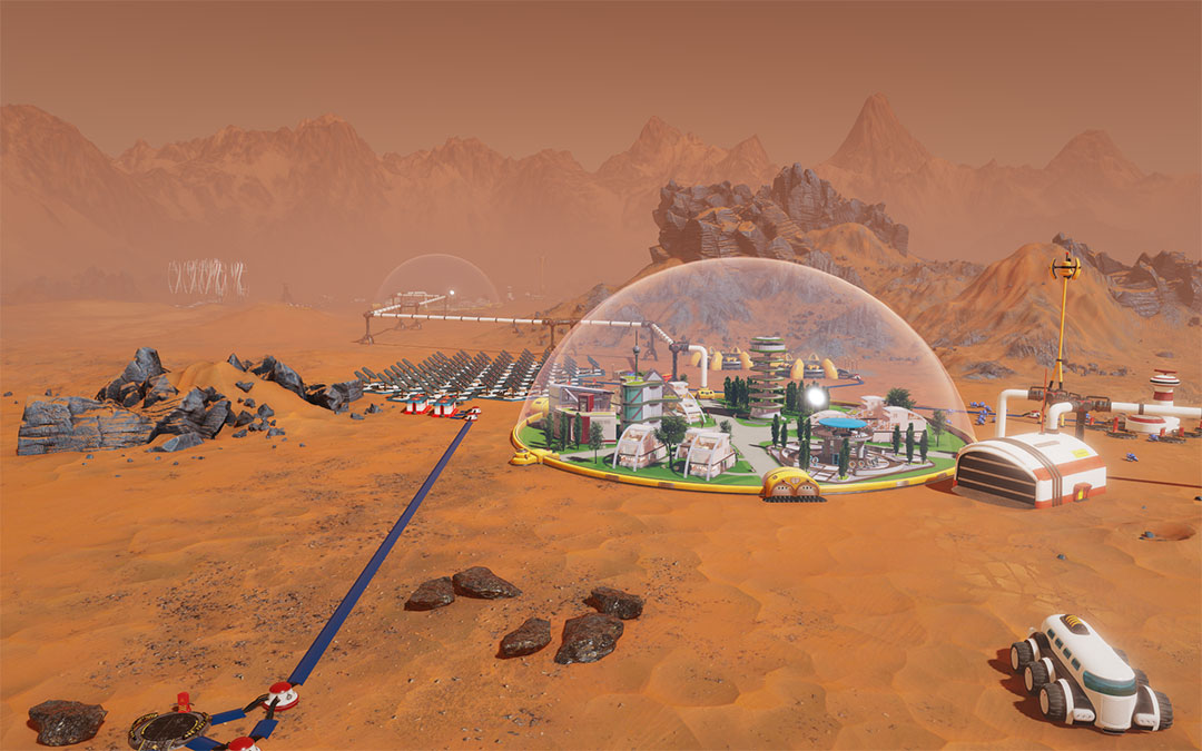 Surviving Mars New Developer Diary About The Surface Of