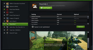 Nvidia GeForce Experience has 30 million active users, Landmark GFE will be better compared to other games