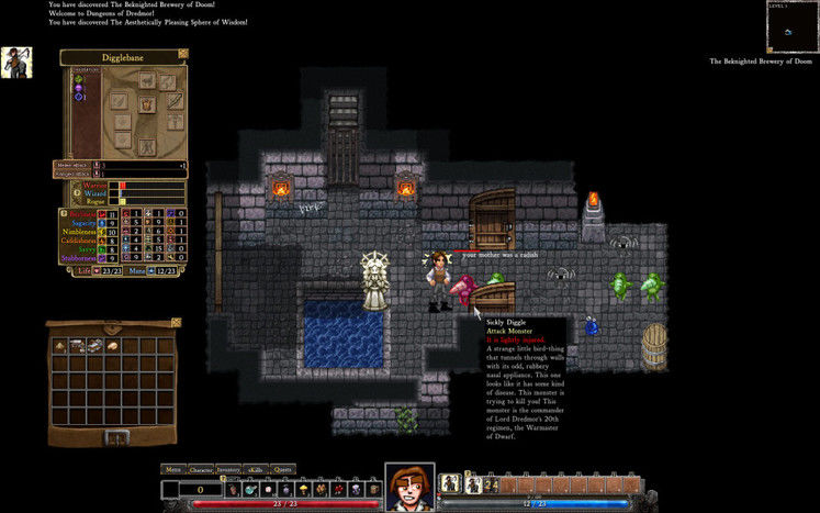 Dungeons of Dredmor gets Steam Workshop for mod distribution