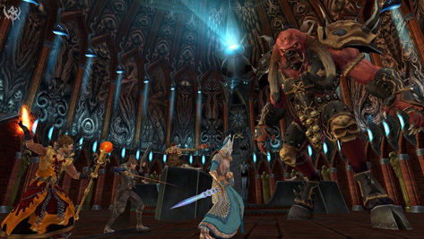 Warhammer Online sheds some Capitol pounds, and four classes