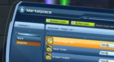 Sony debut DC Universe Online's Marketplace with just 3 items