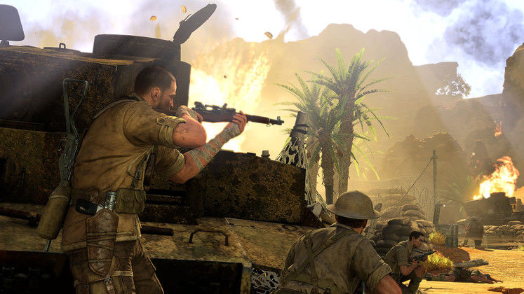 Sniper Elite 3 comes in at first place in latest UK game chart
