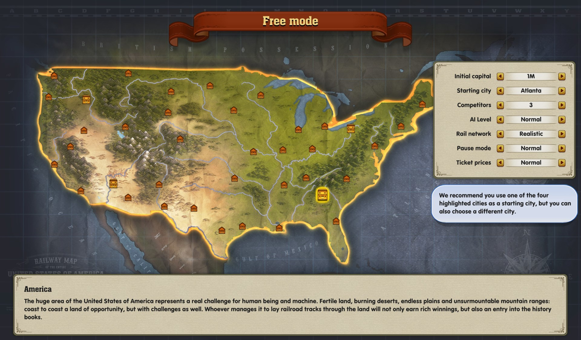 Railway Empire releases Transcontinental Content Update