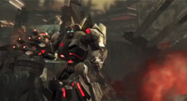 Transformers: Fall of Cybertron multiplayer trailer