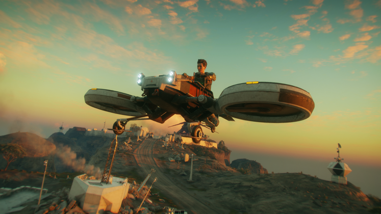 Rage 2 Icarus - How to get the Flying Vehicle