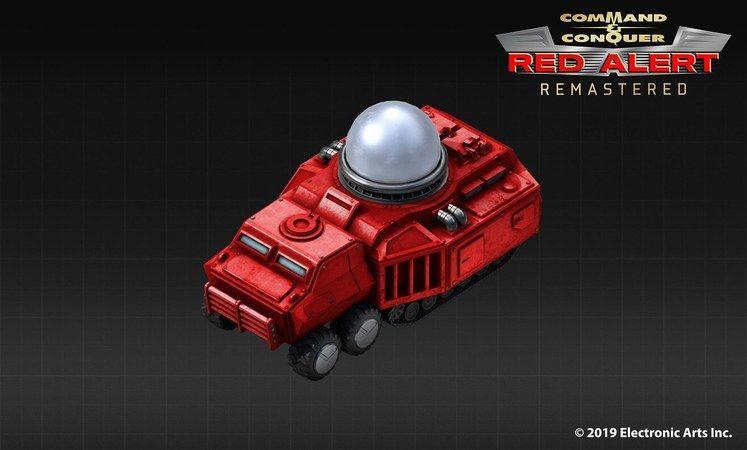 Red Alert Remastered reveals the Tesla Tank