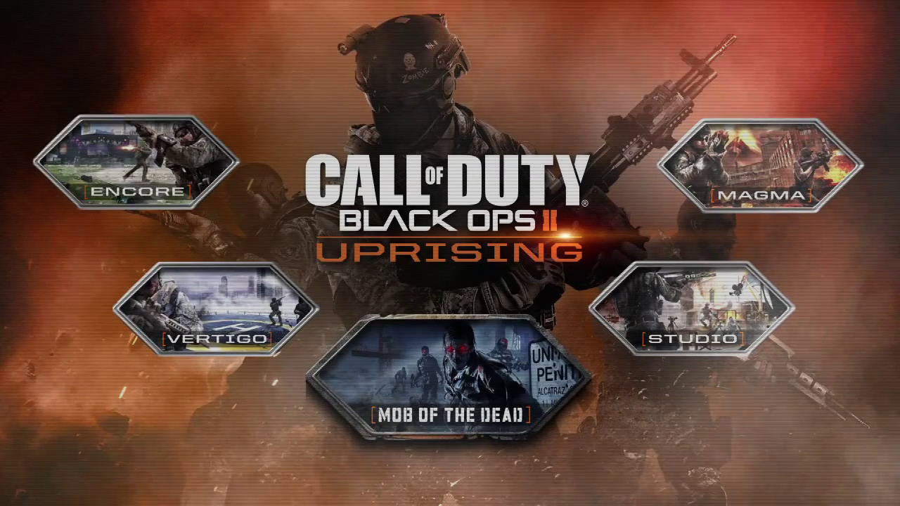 Uprising Map Pack Call of Duty: Black Ops 2 downloadable content Uprising arriving