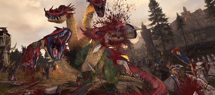 Total War Warhammer 1 & 2 Combined Campaign Out Now, along with Extra Bloody Effects Pack
