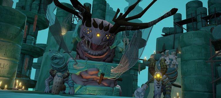 Gods Will Fall Pre-Order Bonus Makes Your Warriors Look Fiercer Donning Hunter's Head Gear