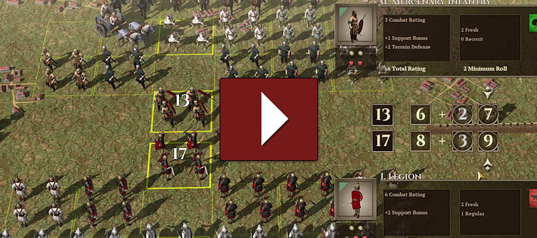 Fields of Glory: Empires Gameplay