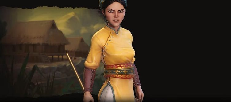 Civilization 6's Vietnam Is A Defensive Powerhouse Led By Bà Triệu