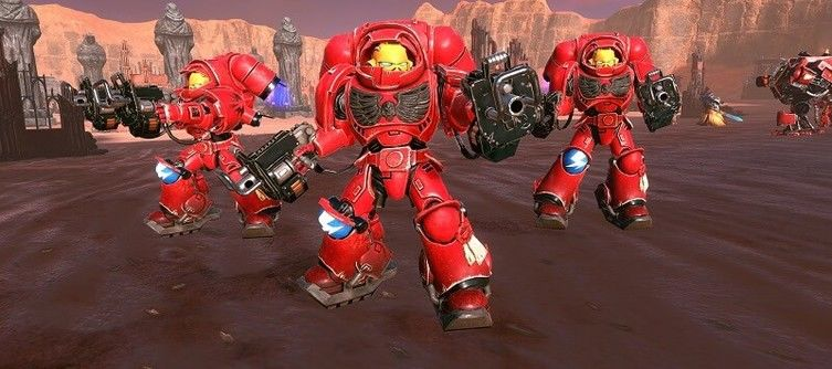 Warhammer 40,000: Battlesector Details Five of Its Playable Units, Including Primaris Space Marines