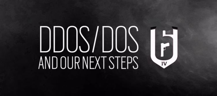 Ubisoft planning ban-wave following DDOS attacks on Rainbow Six Siege Servers