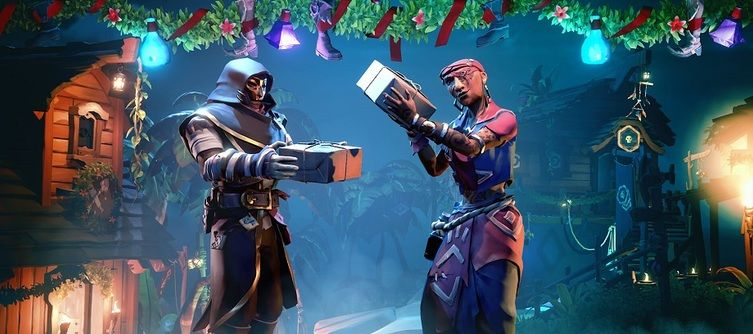 Sea of Thieves Festival of Giving December Update - 2.0.20 Patch Notes Reveal Bilge Rat Voyages and More