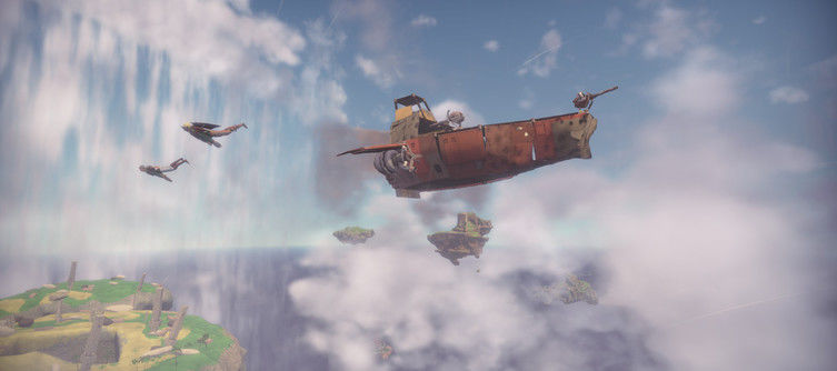 """Community-crafted"" skyship MMO Worlds Adrift officially launches on Early Access May 17"