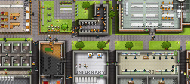 Prison Architect Passes 4 Millon Downloads, The Clink Update Live on PC