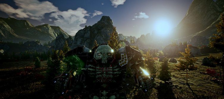The Industrial Reshade Mod Makes MechWarrior 5: Mercenaries Darker and Grimier