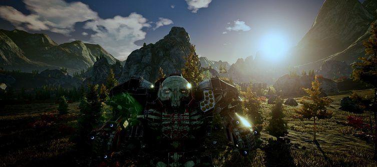 The Industrial Reshade Mod Makes MechWarrior 5: Mercenaries Darker and Grimier