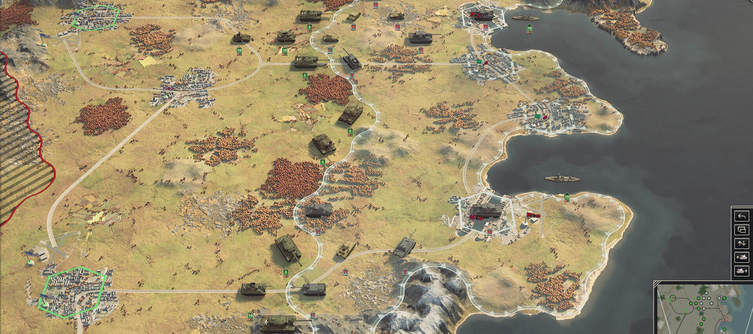 Panzer Corps 2 Gameplay Video reveals core Gameplay Features