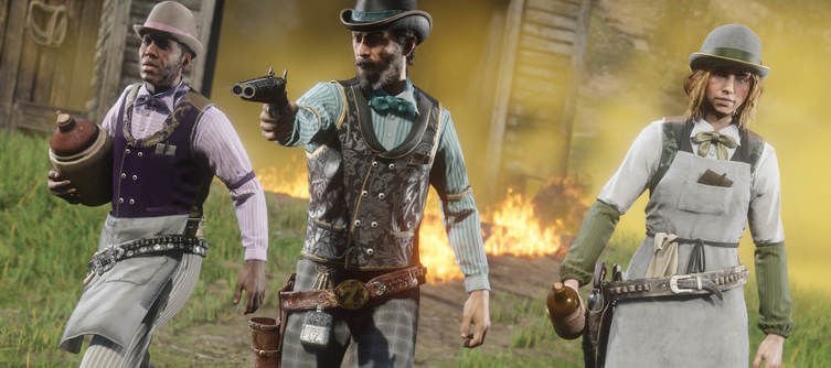Red Dead Online Features Free-for-all Last Stand Free Aim Mode, Character and Role XP Boosts This Week