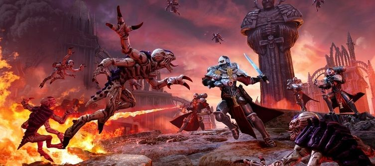 The Sisters of Battle Lend the Blood Angels A Helping Hand in Warhammer 40,000: Battlesector