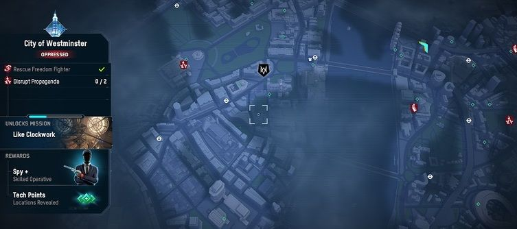 Watch Dogs: Legion Spy Location Guide