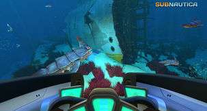 Submarine Survival Game Subnautica Is Out, Has A Dev Marriage Proposal On Live Stream