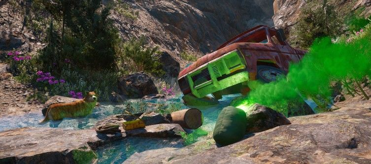 Far Cry New Dawn Rescuers Go Under - How to Complete the Treasure Hunt